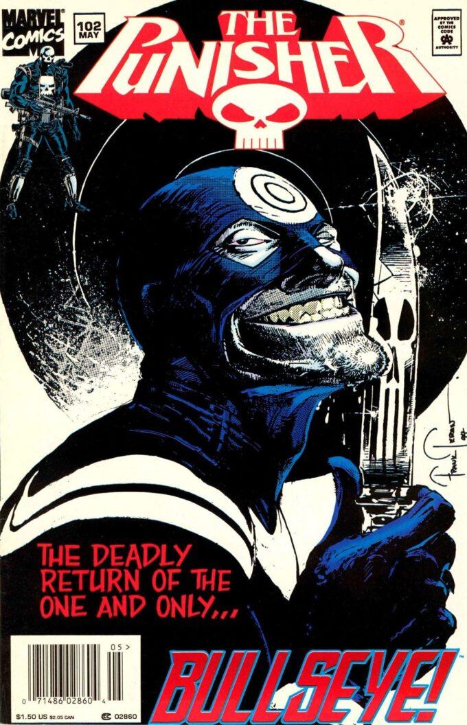The Punisher #102 / 14 czarno-biały
