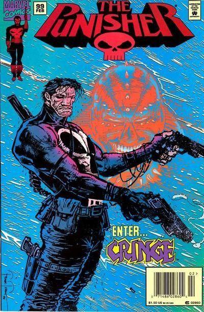 The Punisher #99 / 1 czarno-biały