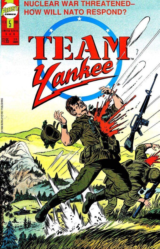 Team Yankee #5 / 4 czarno-biały