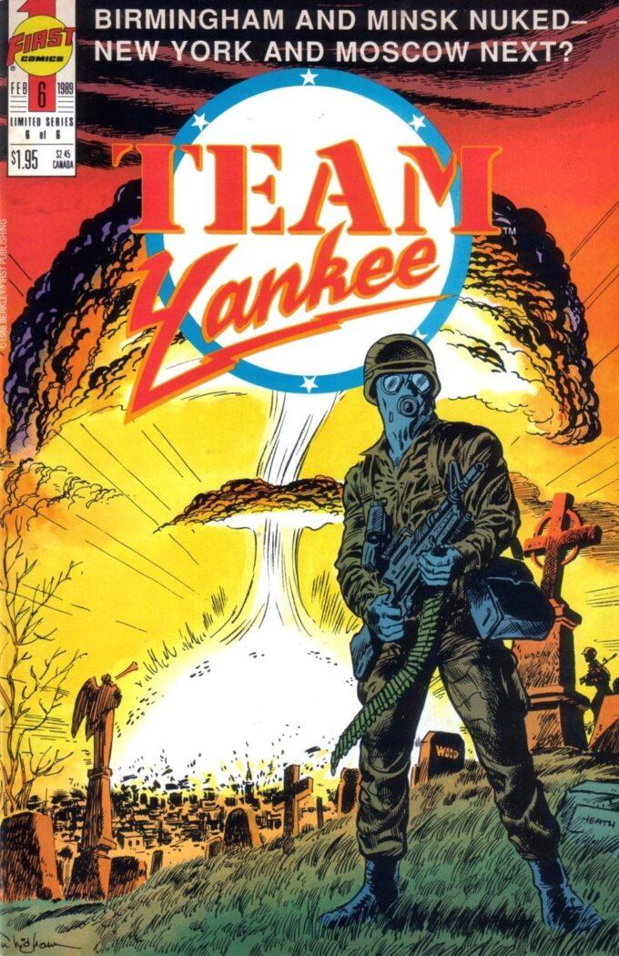 Team Yankee #6 / 18 czarno-biały