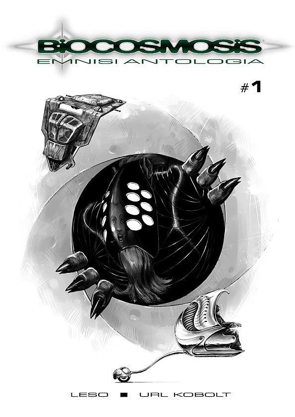 Biocosmosis. Antologia #1 /3 czarno-biały