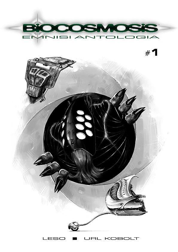 Biocosmosis. Antologia #1 / 6 czarno-biały