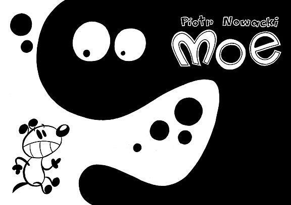 Moe czarno-biały