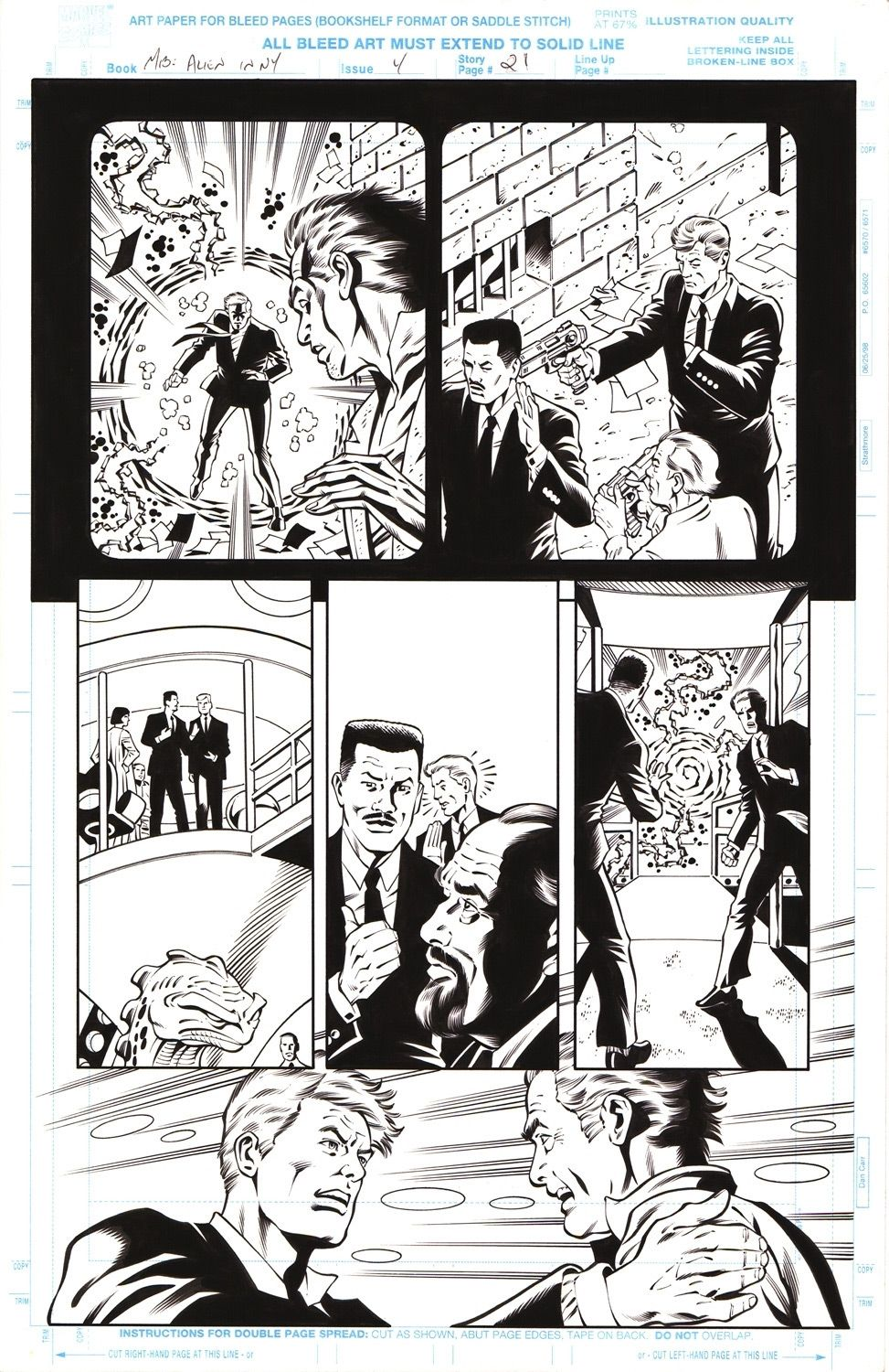 Men in Black: Alien in New York #4 / 21