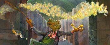 Szczęśliwa żaba z Jutro będzie futro