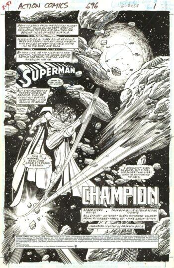 Action Comics #696 / 1