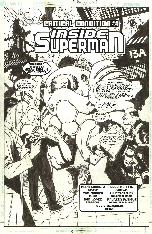 Man of Steel #102 / 2, Inside Superman