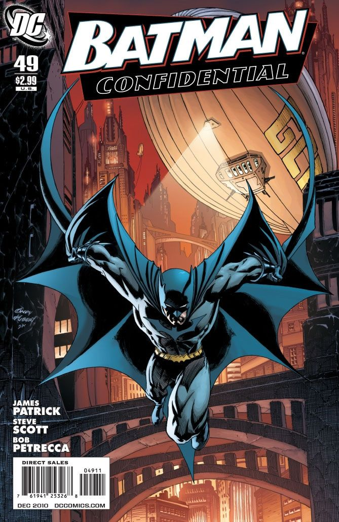 Batman Confidental #49 / 15 czarno-biały