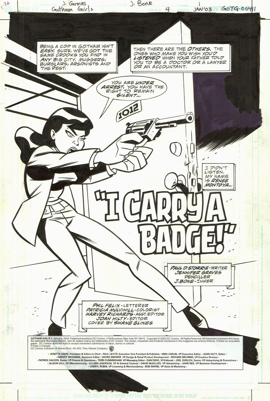 Gotham Girls #4 / 1
