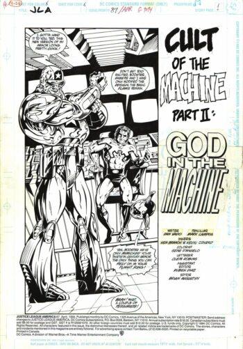 Justice League America #87 / 1