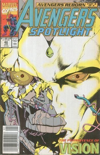 Avengers Spotlight #40 / 1 czarno-biały