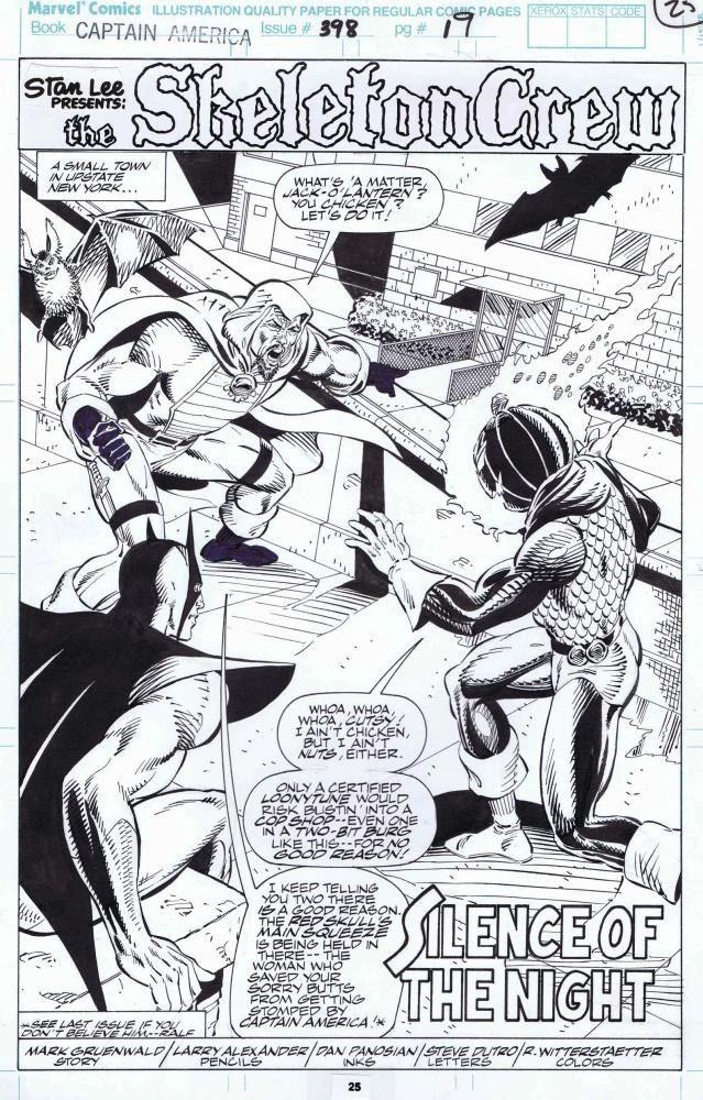 Captain America #398 / 19