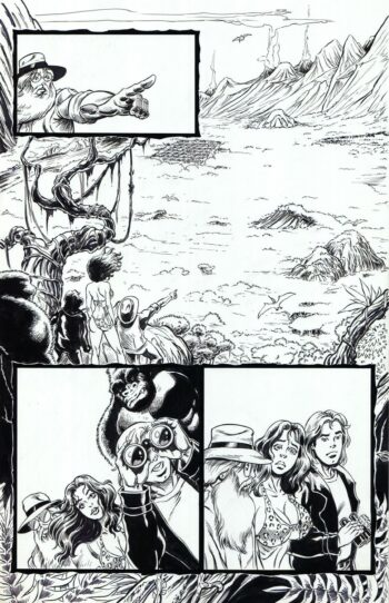 Cavewoman: Red Menace 8