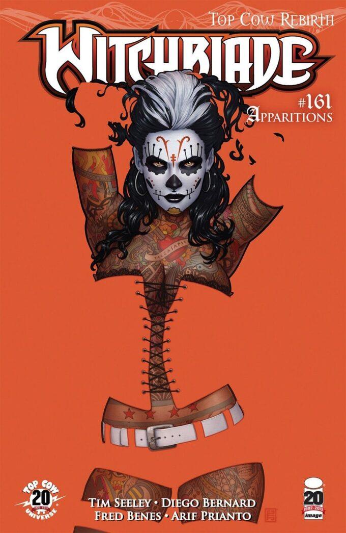 Witchblade #161 / 8-9 czarno-biały