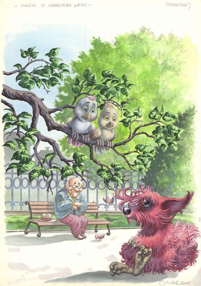 Miłek z czarnego lasu - okładka