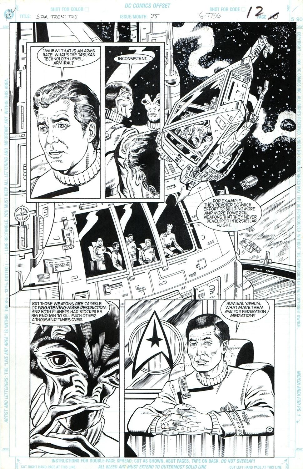 Star Trek: The Tabukan Syndrome #35 / 12