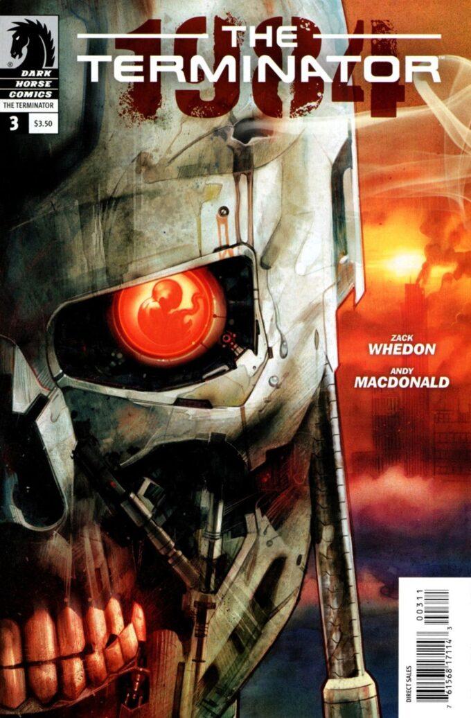 The Terminator: 1984 #3 / 14 czarno-biały