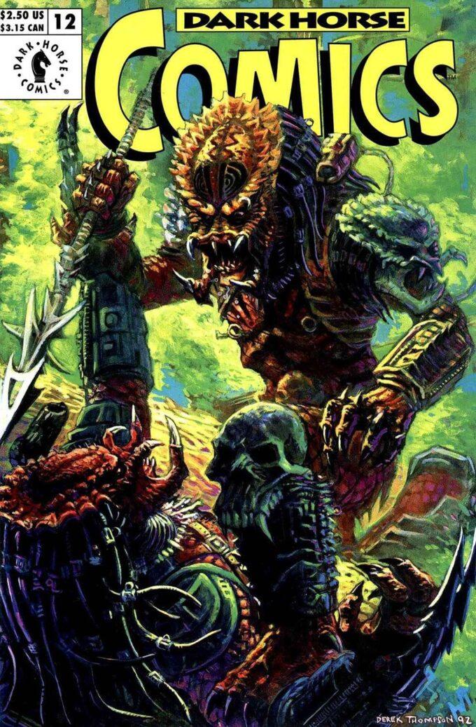 Dark Horse Comics #12 / 22 Predator czarno-biały
