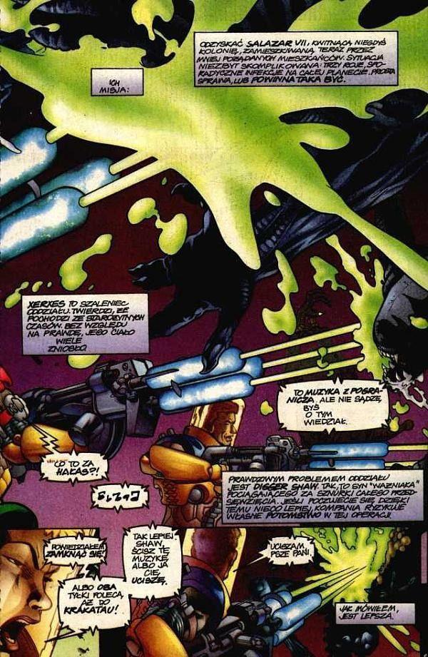 Aliens: Xenogenesis #1 / 2-3 czarno-biały