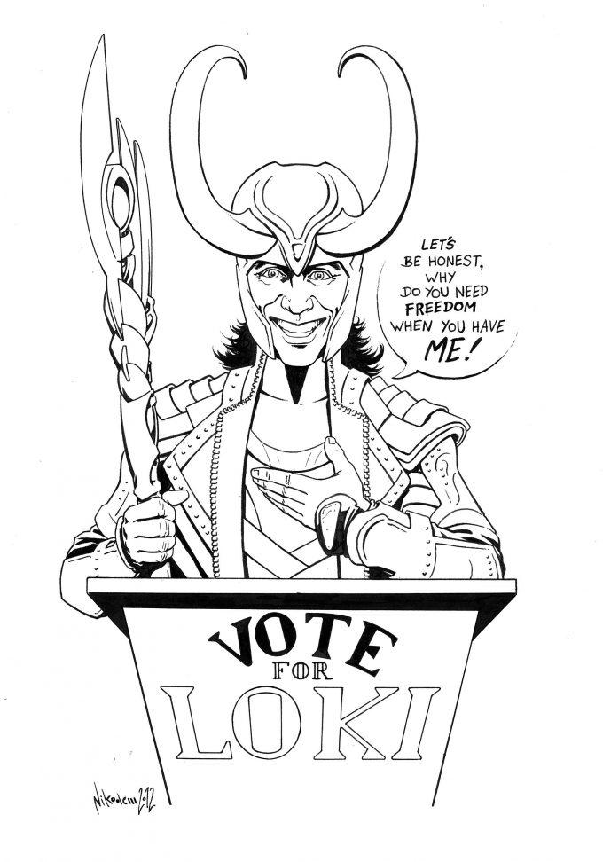 Vote ofr Loki