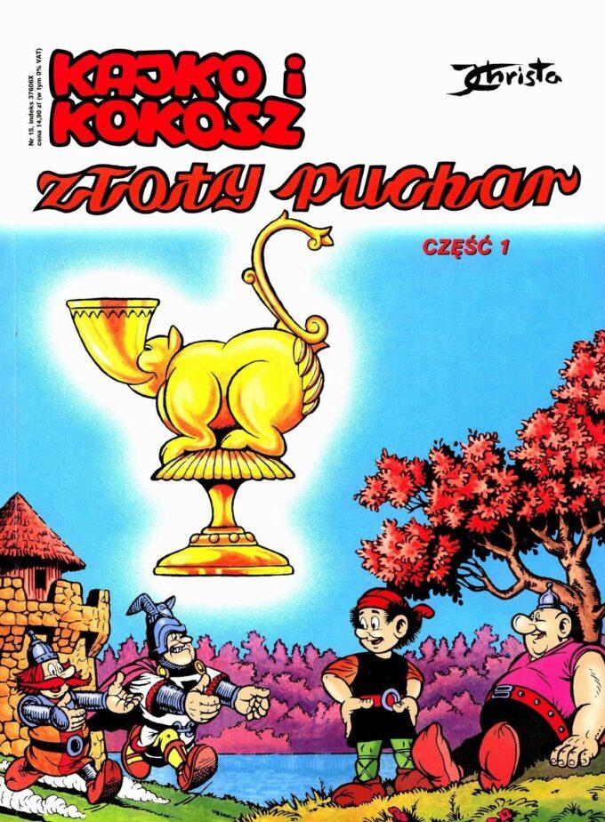 Kajko i Kokosz. Złoty Puchar #1 / 36 czarno-biały