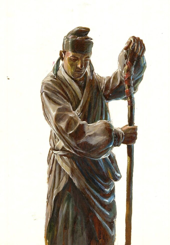 Xiao Lang - szkic postaci