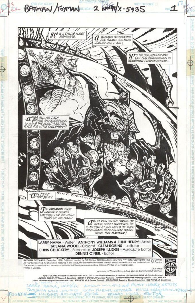 Batman: Toyman #2 / 1