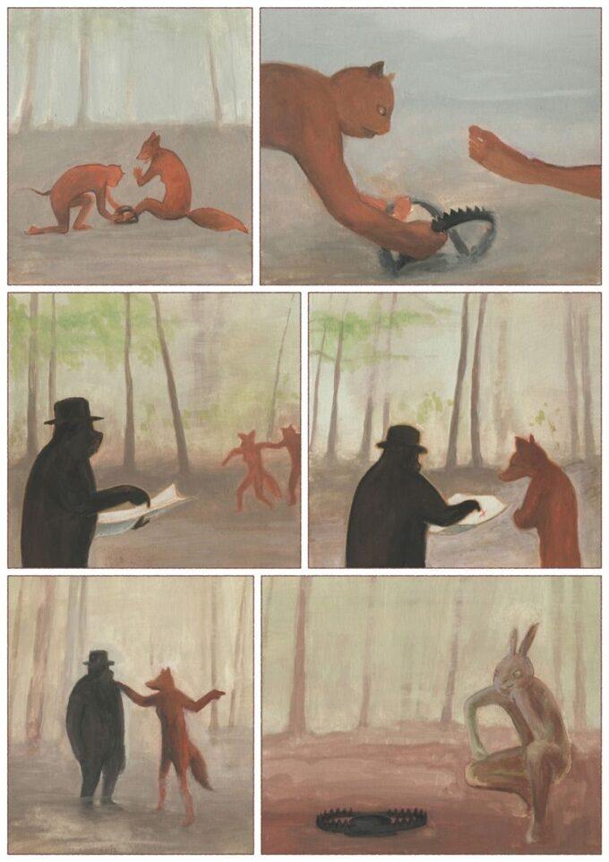 kot i królik