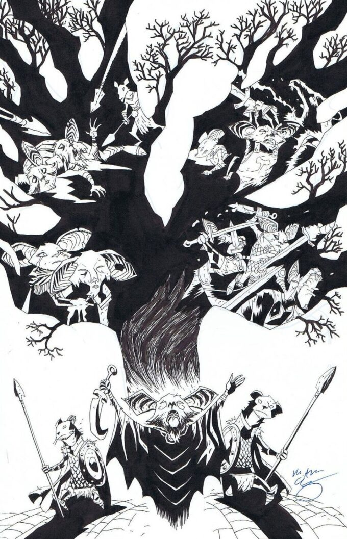 The Mice Templar. Legend vol 4 1/8