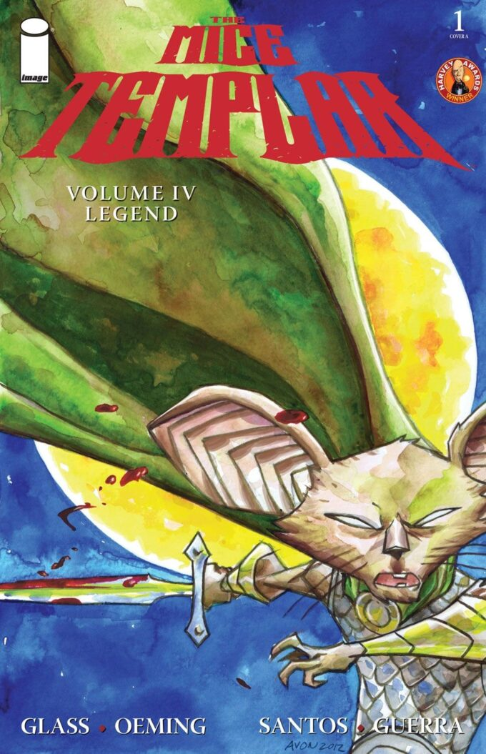 The Mice Templar. Legend vol 4 1/8 czarno-biały