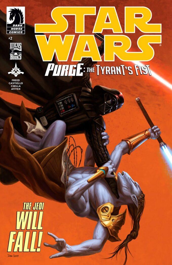 Star Wars: Purge: The Tyrant's Fist 2/4 (ołówek) czarno-biały