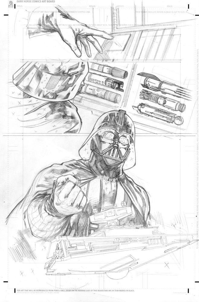 Star Wars: Purge: The Tyrant's Fist 2/21 (ołówek)