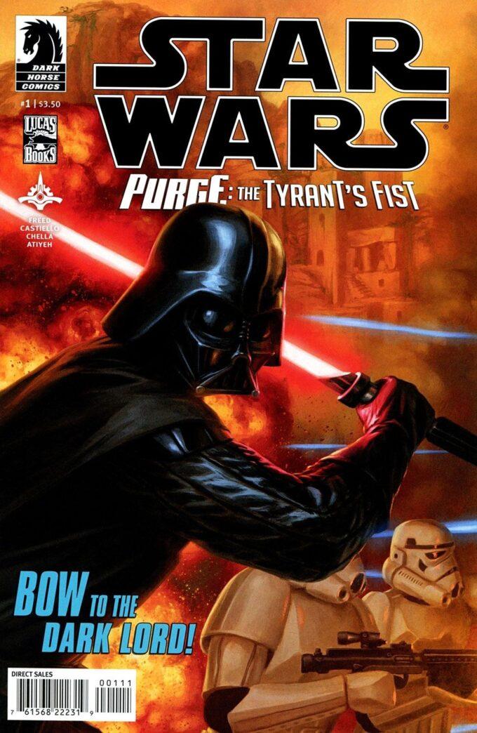 Star Wars: Purge: The Tyrant's Fist 1/8 (tusz) czarno-biały