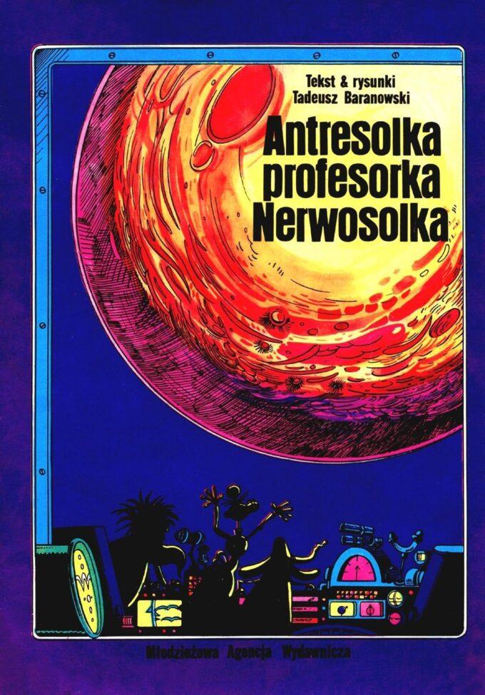 Antresolka profesorka Nerwosolka 43 - komplet (tusz