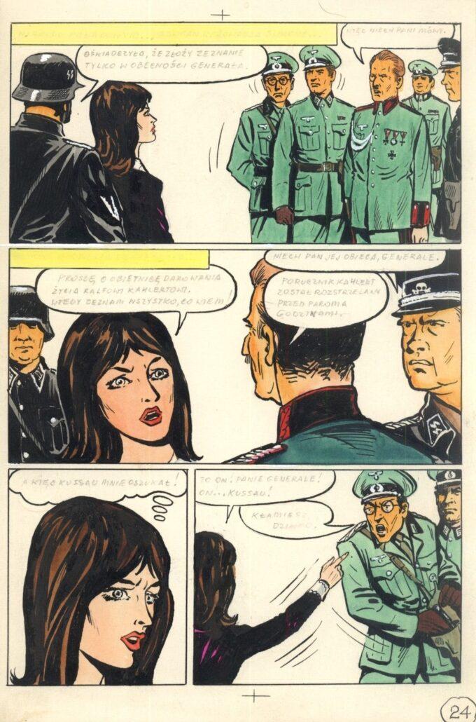 "Kapitan Kloss: Akcja ""Liść Dębu"" 24"