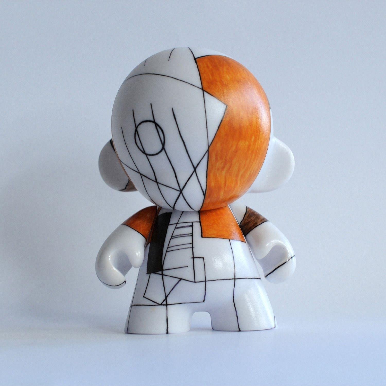 a'la Picasso (Munny, Kidrobot)