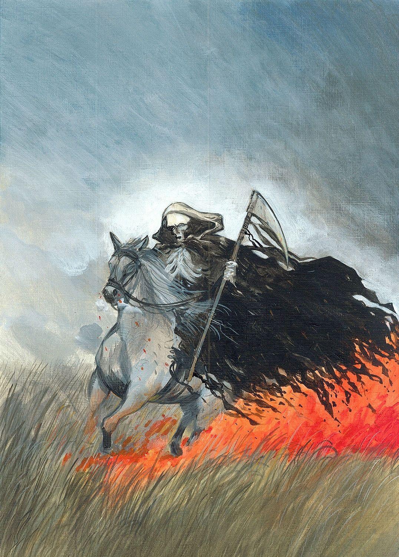 Koń świata, concept art