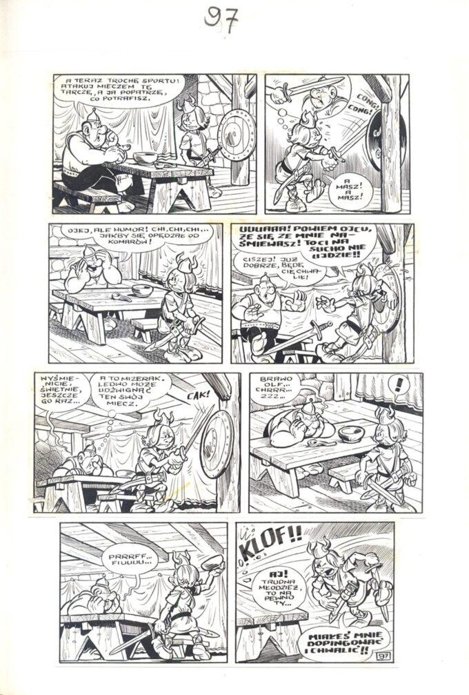 Kajko i Kokosz. Szranki i konkury 2 / 97