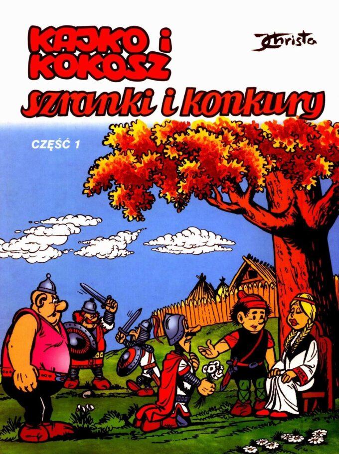 Kajko i Kokosz. Szranki i konkury 2 / 97 czarno-biały