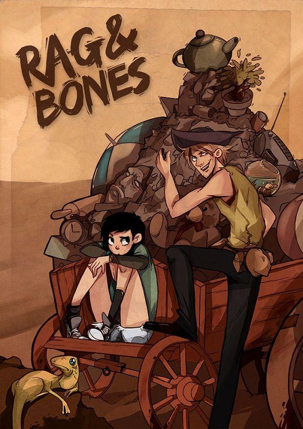 Rag & Bones #1 / 3 czarno-biały
