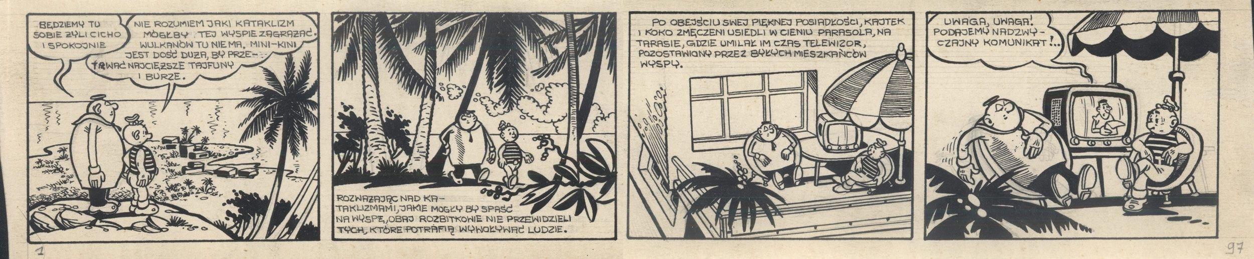 Kajtek i Koko wśród piratów, 97