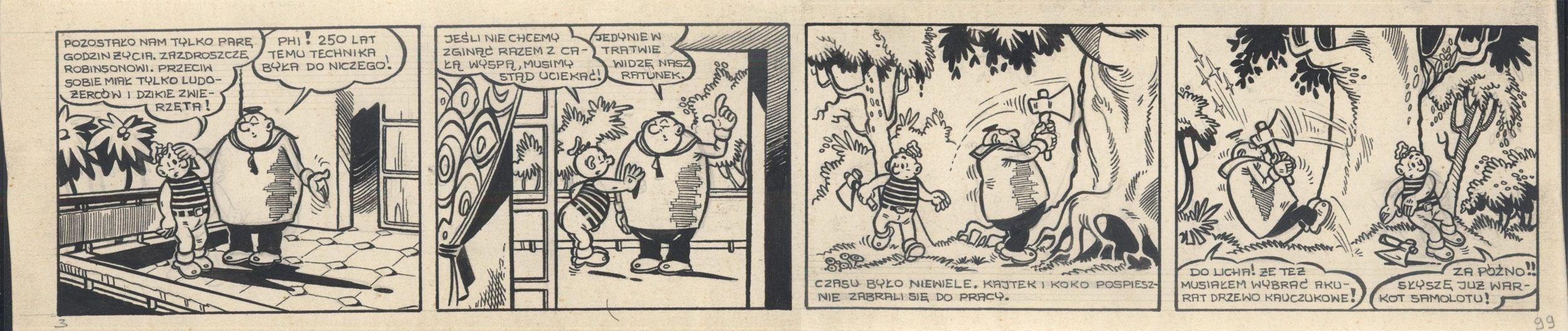 Kajtek i Koko wśród piratów, 99
