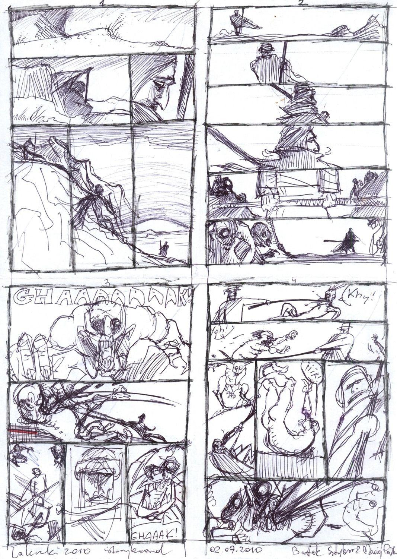 Laleczki, storyboard (komplet)