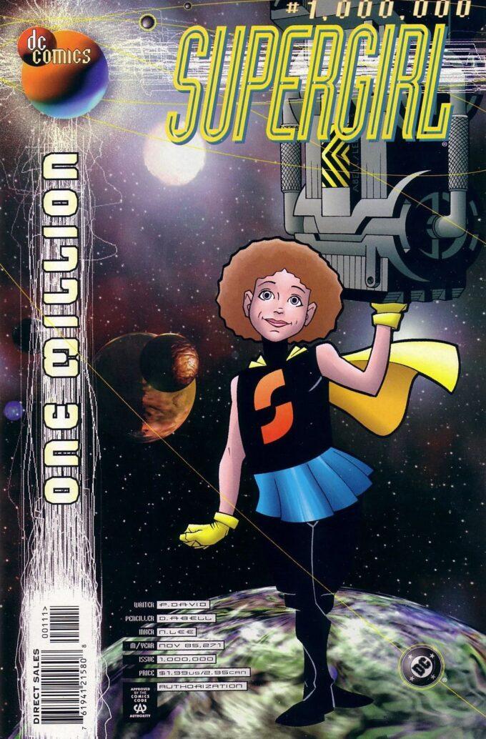 Supergirl. One Million #1 / 3 czarno-biały