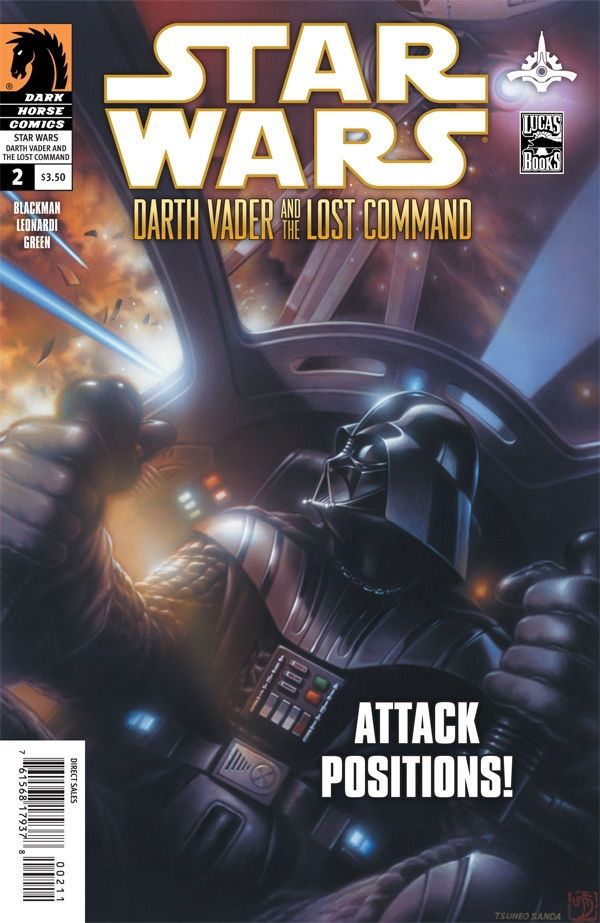 Star Wars: Darth Vader and the Lost Command #2 / 9 czarno-biały
