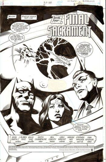 JLA: Black Batism #4: Final Sacrement