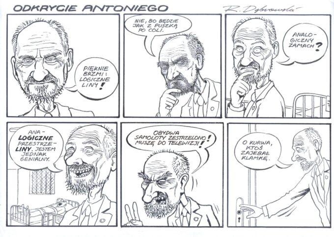 NIE: Odkrycie Antoniego