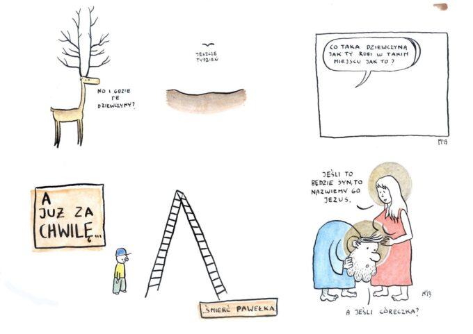 Naprawdę nieśmieszne rysunki