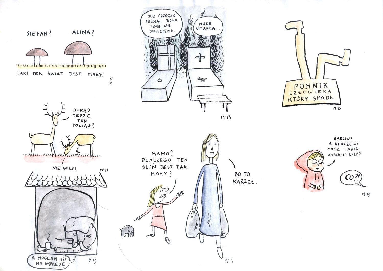 Naprawdę nieśmieszne rysunki, 2