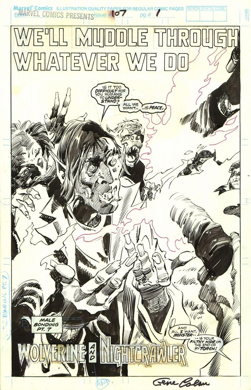 Marvel Comics Presents #107: Wolverine and Nightcrawler, s. 1